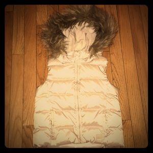 Baby Gap Puffer Vest Size XS(4-5)